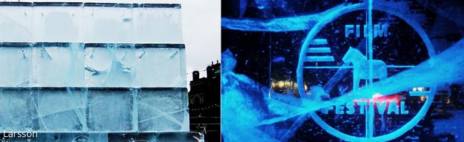 écran de glace